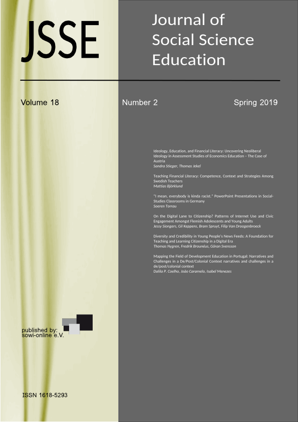 JSSE - Journal of Social Science Education