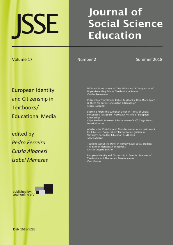 View Vol. 17 No. 2 (2018): European Identity and Citizenship in Textbooks and Educational Media