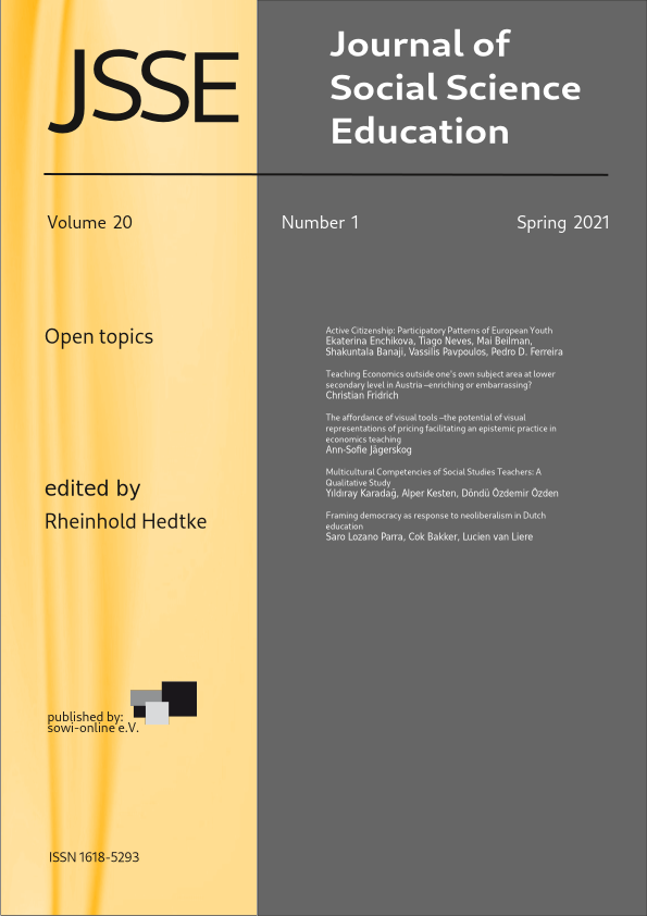 View Vol. 20 No. 1 (2021): Open topics