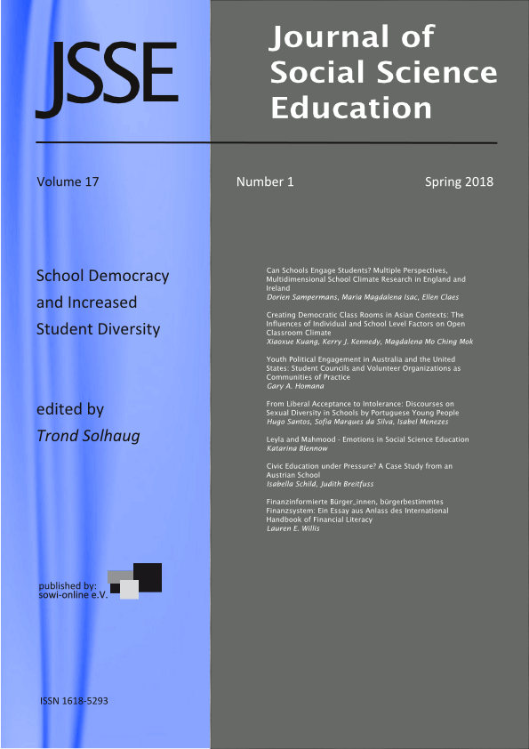 View Vol. 17 No. 1 (2018): School Democracy and Increased Student Diversity
