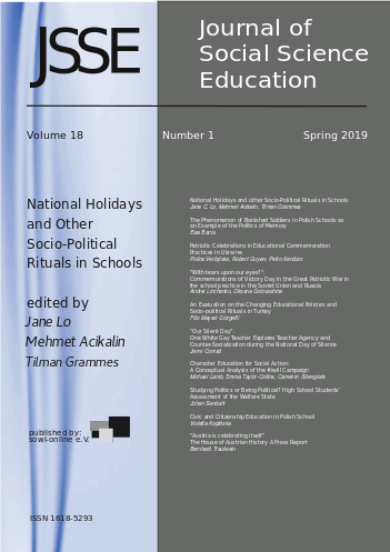 View Vol. 18 No. 1 (2019): National Holidays and other Socio-Political Rituals in Schools